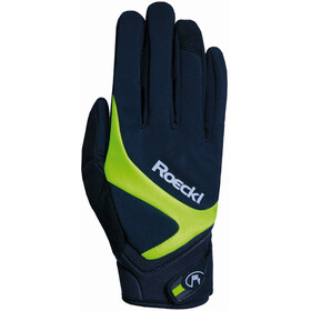 Roeckl Rhein Gloves black/yellow